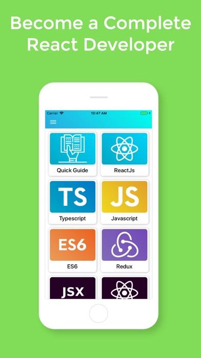 Learn React v16.12 Pro screenshot 1