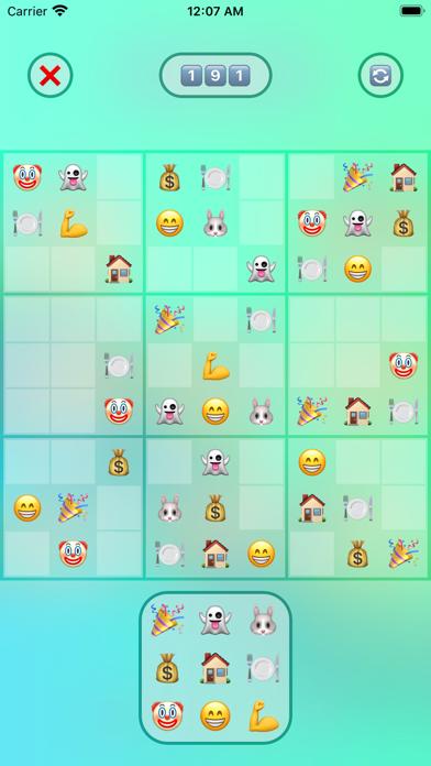 Jan's Emoji Sudoku screenshot 5