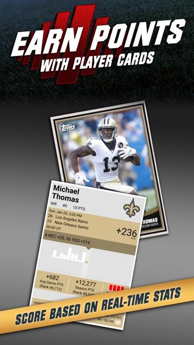 Topps NFL HUDDLE: Card Trader Screenshot