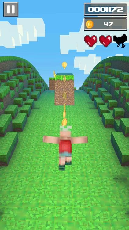 Craft Boy Runner : Epic Run 3d