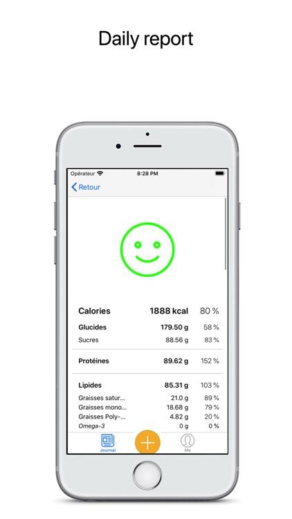 SuperDiet - Calorie Counter screenshot-3