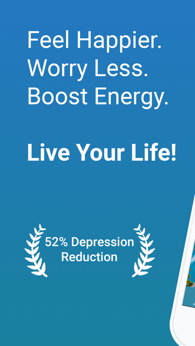 UpLift - Depression & Anxiety Screenshot