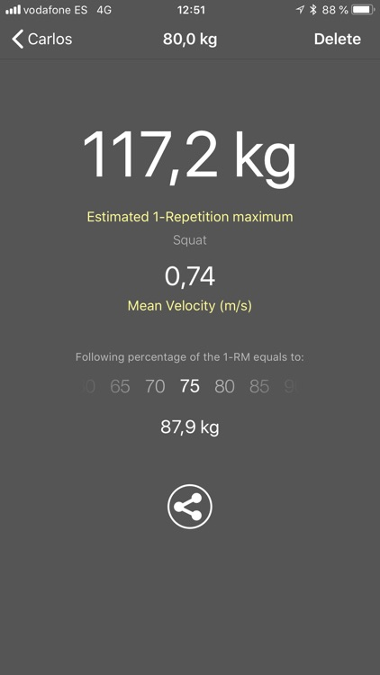My Lift: Measure your strength screenshot-3
