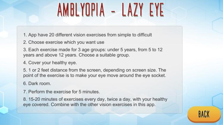 Amblyopia - Lazy Eye screenshot-7