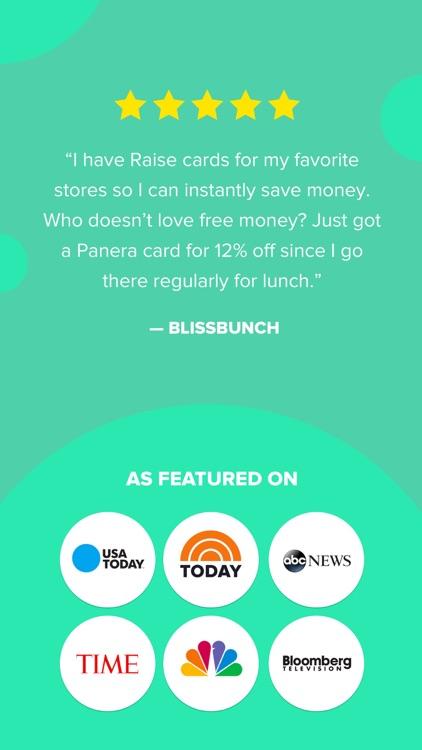 Raise - Discounted Gift Cards screenshot-5