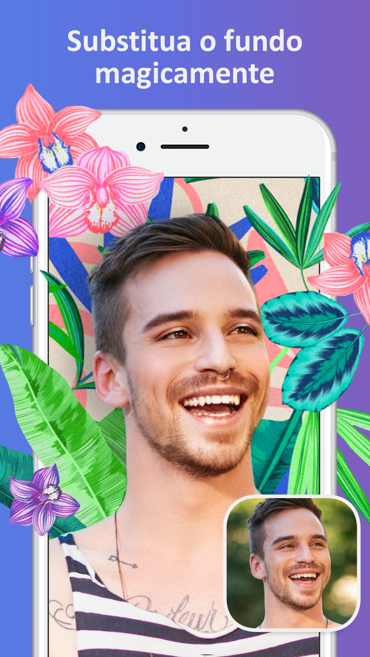 Screenshot do app Facetune2: Editor de Selfies