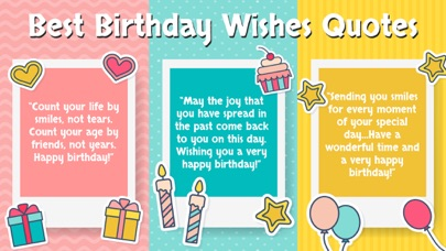 Birthday Wishes - Cards, Frame screenshot two