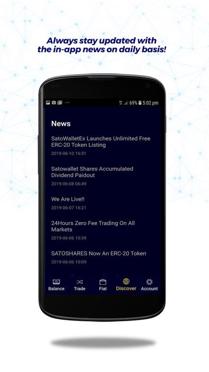 Satowallet - Crypto Exchange screenshot-6