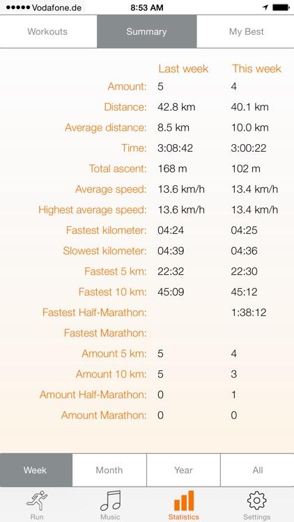 run.App - Running with GPS screenshot-3