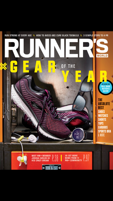 Runners World review screenshots