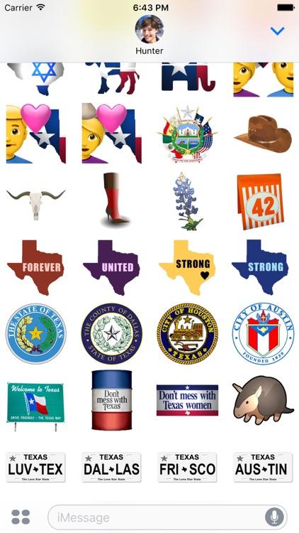 Texas Emojis screenshot-3