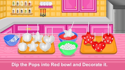 Strawberry Pops Cooking Games screenshot 3