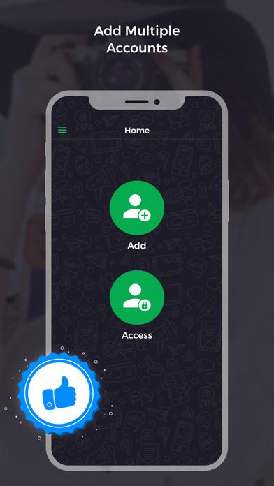Multi Chat for WhatsApp Screenshots