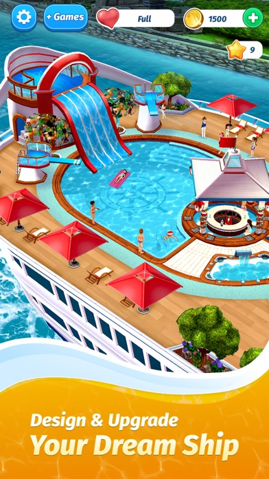 The Love Boat - Puzzle Cruise screenshot 1