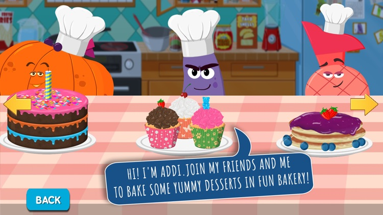 Fun Bakery - Fruits Vs Veggies screenshot-0