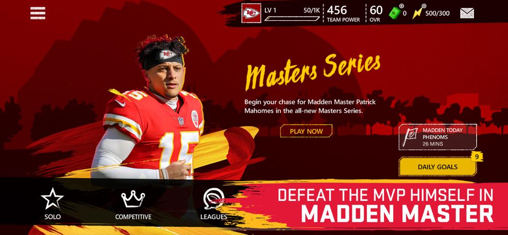 madden mobile master series