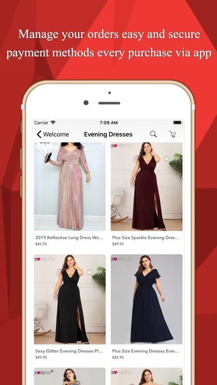 Clothing Plus Size Shopping screenshot-4