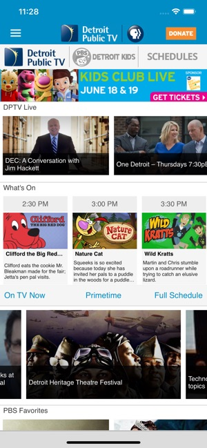 Detroit PBS on the App Store