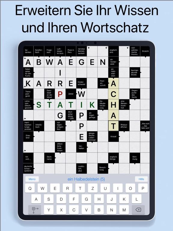 Kreuzworträtsel Kompakt screenshot 7