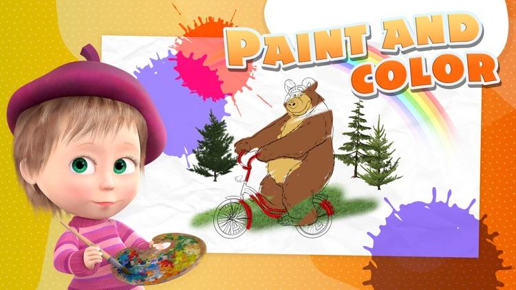 Masha and the Bear - Game Zone screenshot-3