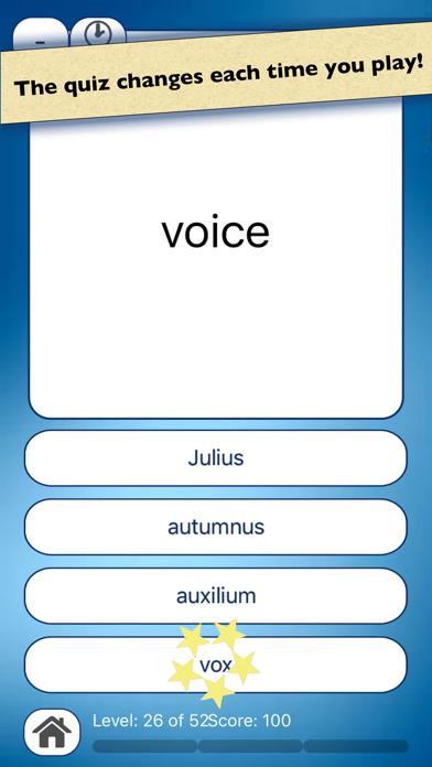 点击获取Latin Vocabulary Quiz