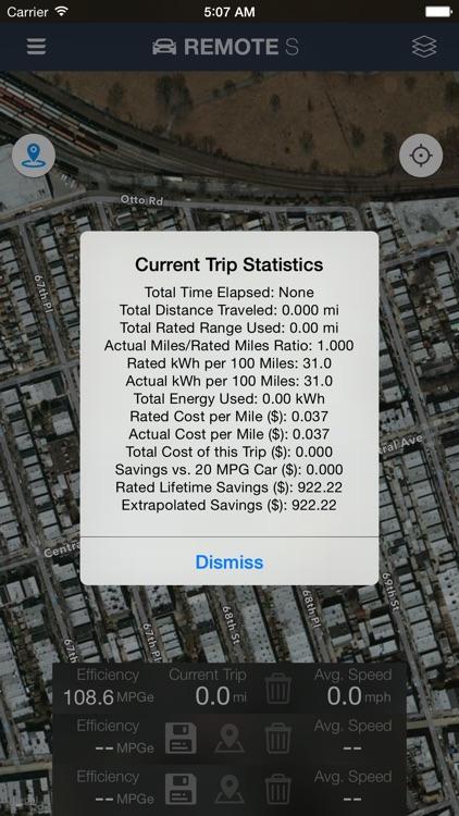 Remote for Tesla