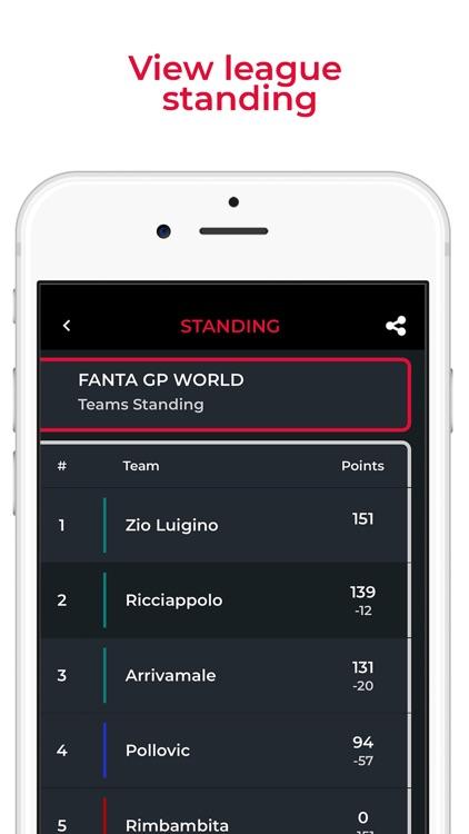 Fanta GP Manager Game screenshot-4