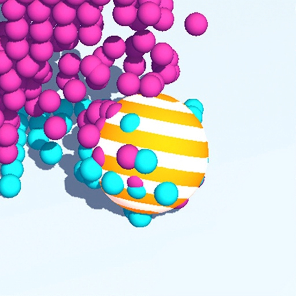 Art Ball : Fit the Color 3D hack