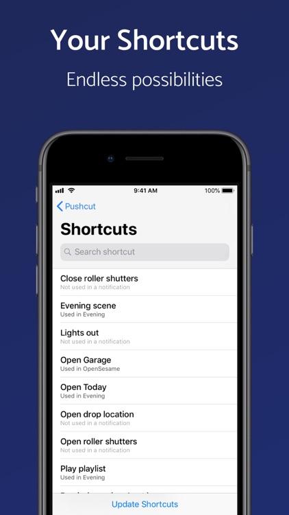 Pushcut: Shortcuts Automation screenshot-5