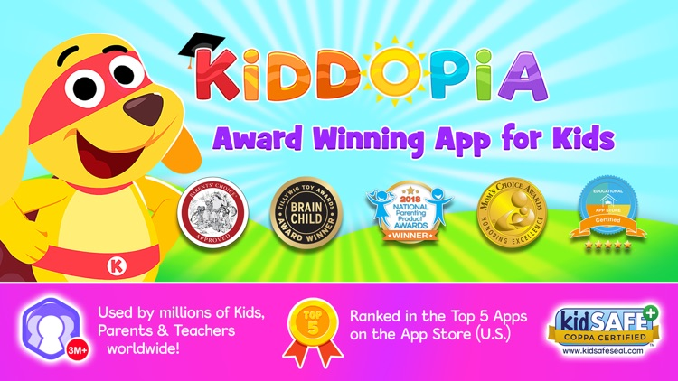 Kiddopia - ABC Toddler Games screenshot-0