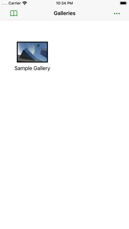 Gallery for Lightroom