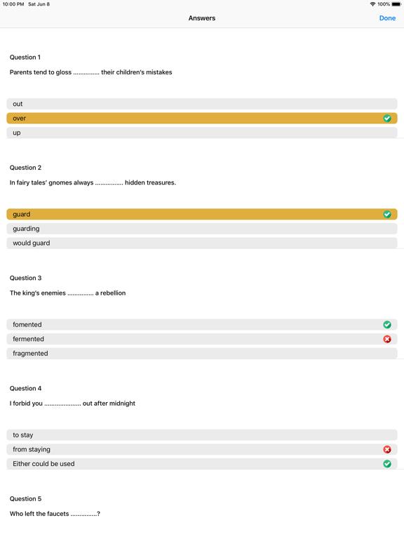 English Grammar-QTS,IETLS,TOFL screenshot 9