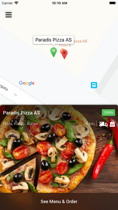 Paradis Pizza AS screenshot 2