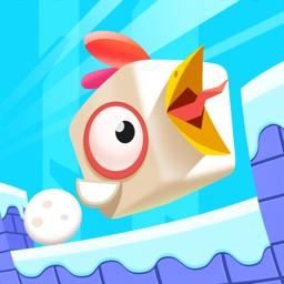 方块鸟 - 小鸟跑酷