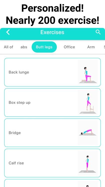 Buttocks Butt and Legs Workout screenshot-5