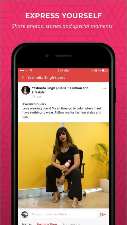 Women Social Network - SHEROES screenshot-4