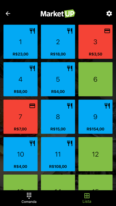 MarketUP Comandas Screenshot