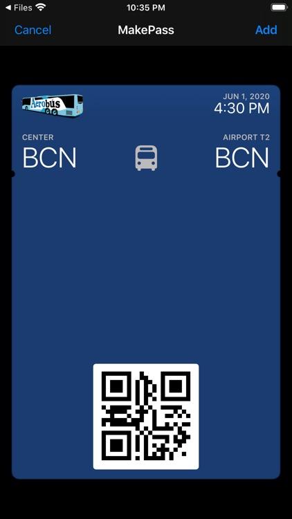 MakePass: Barcode to Wallet screenshot-3