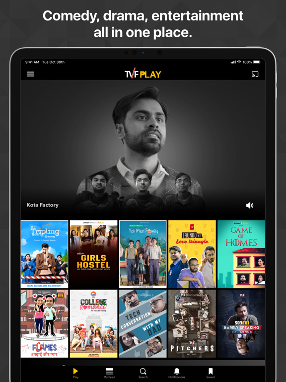 TVFPlay by CONTAGIOUS ONLINE MEDIA NETWORK PRIVATE LIMITED