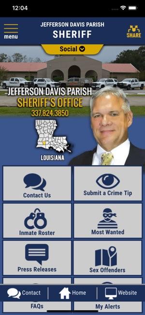 Jefferson Davis Parish Sheriff on the App Store