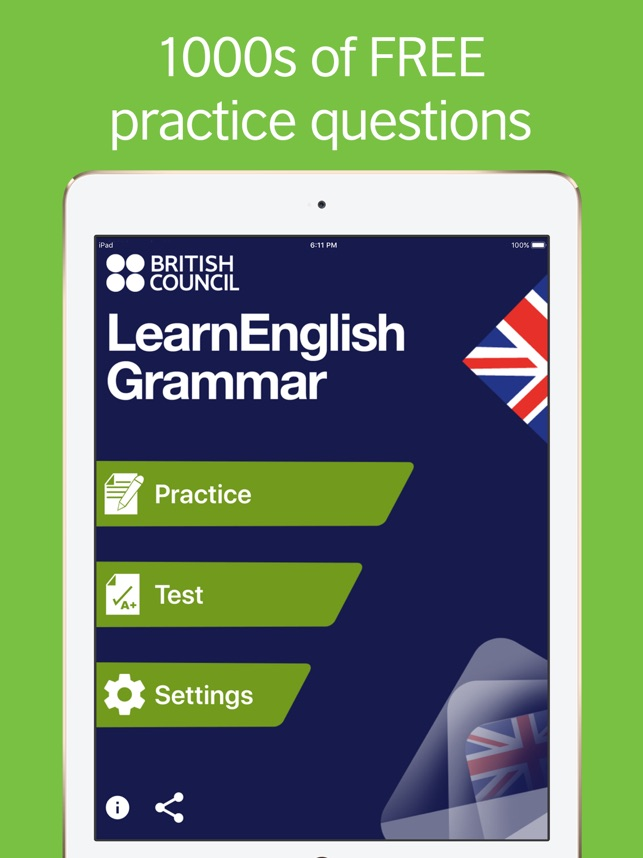 LearnEnglish Grammar (UK ed ) on the App Store