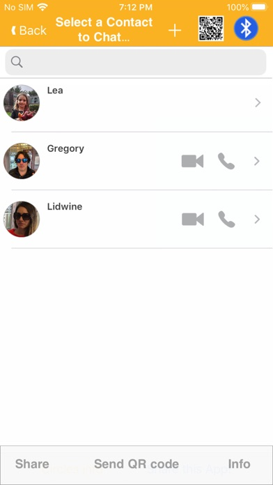 Screenshot of Circles -Crittografia E2E VOIP2