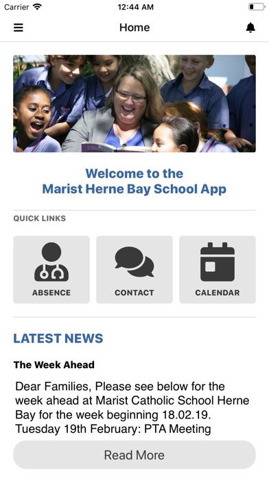 Marist Herne Bay School screenshot 1