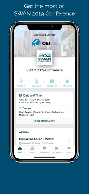 SWAN 2019 Conference on the App Store