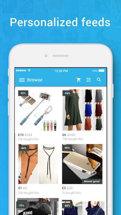 Screenshot for Wish - Shopping Made Fun in Sri Lanka App Store