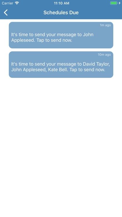Pro SMS Scheduler screenshot-3
