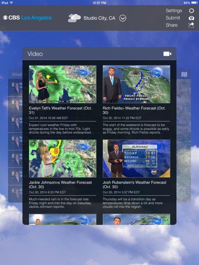CBS LA Weather on the App Store