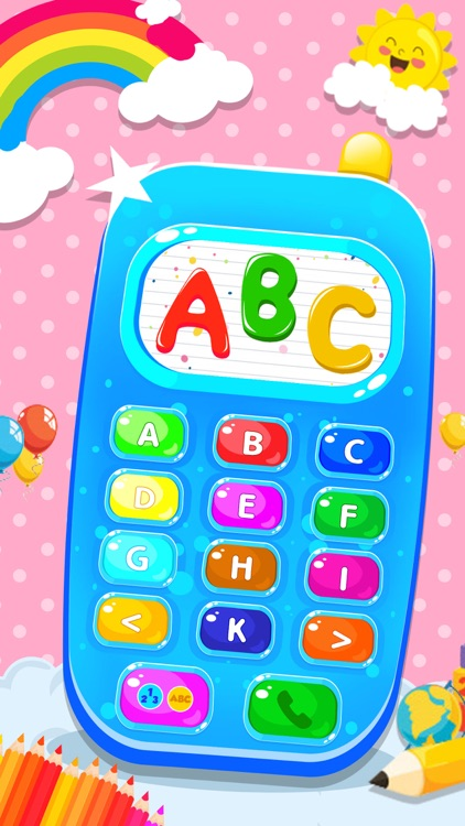 Toy Phone Learning Game screenshot-3