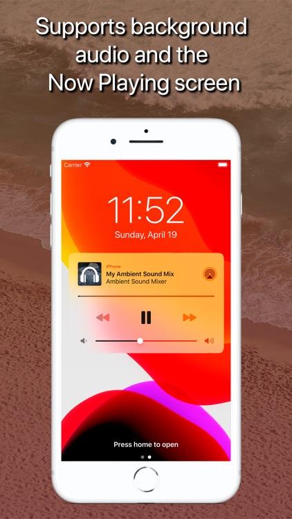Ambient Sound Mixer screenshot-3
