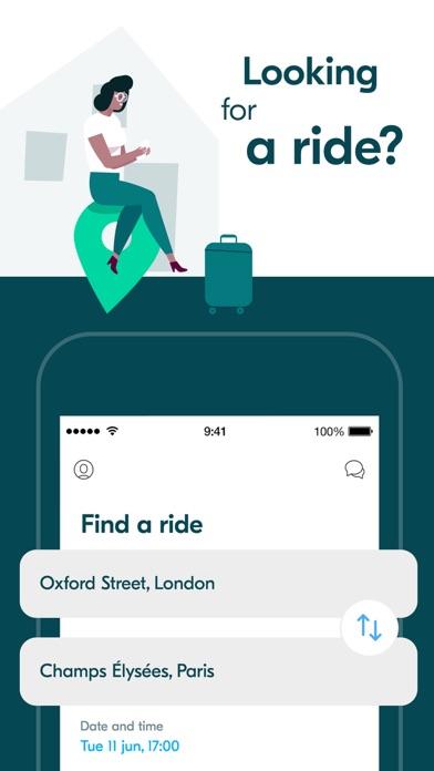 Screenshot for BlaBlaCar: Carpooling and Bus in Romania App Store